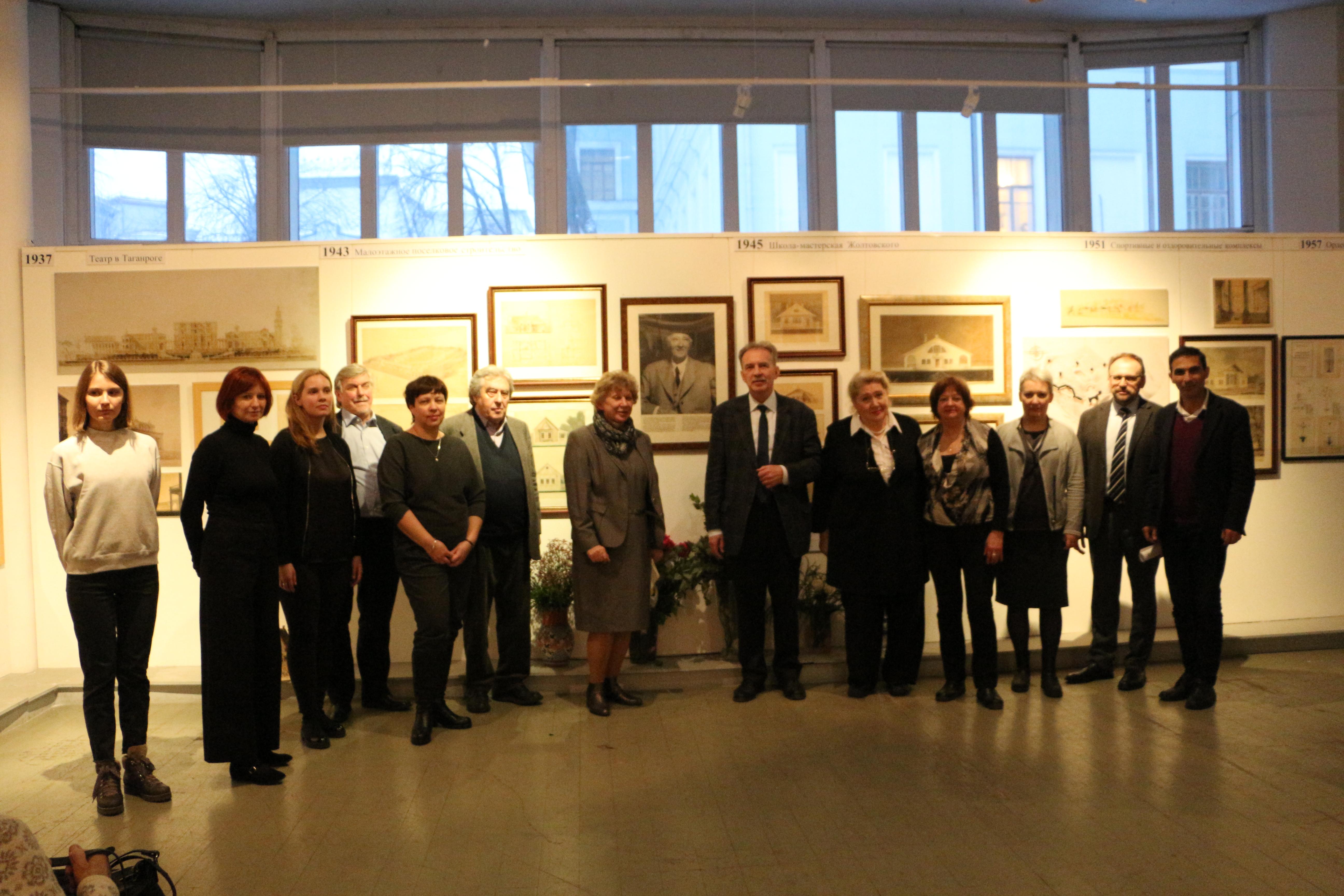 150-летие И.В. Жолтовского. Выставка в галерее ВХУТЕМАС