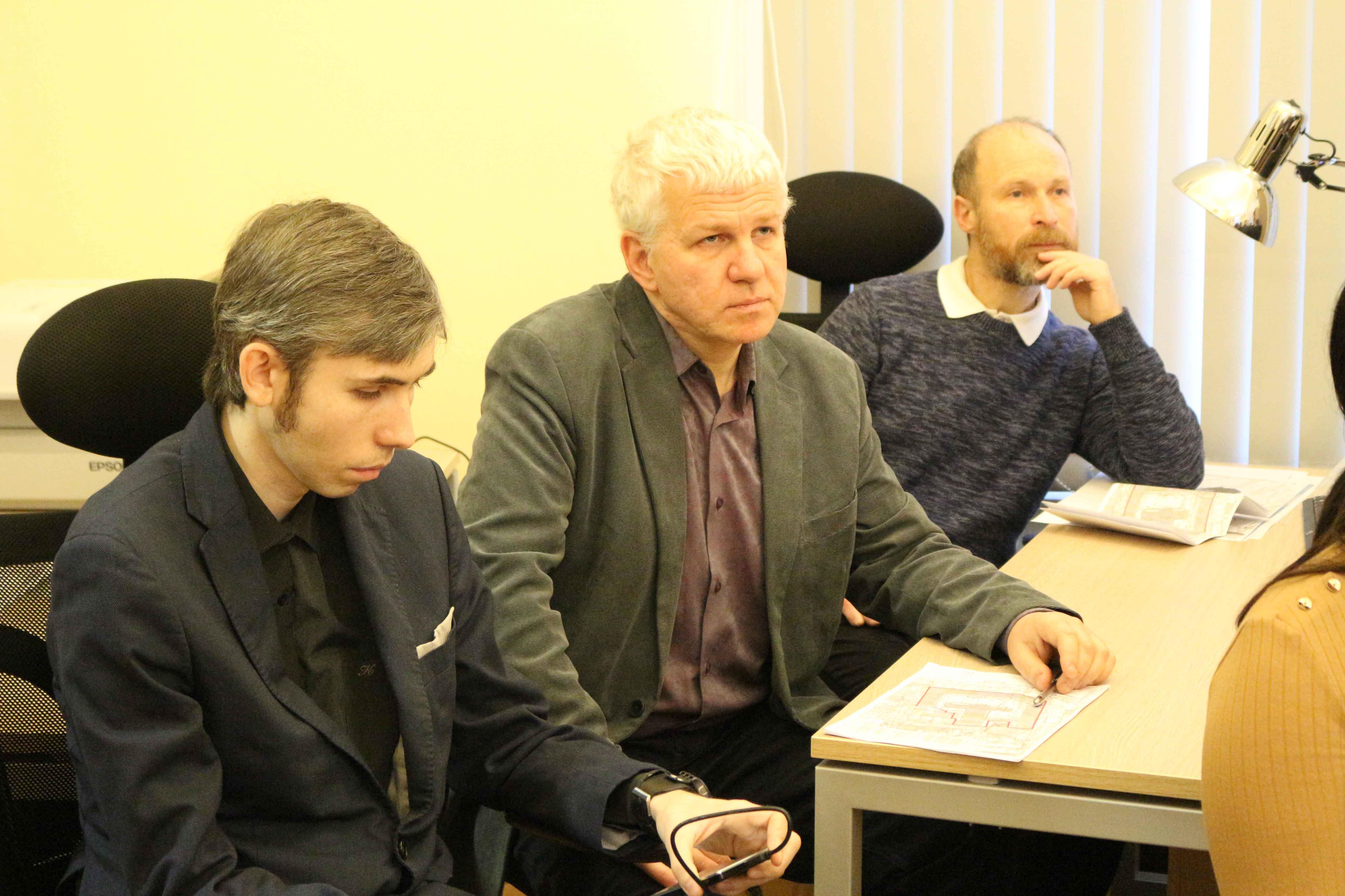 На кафедре «Храмовое зодчество» МАРХИ состоялась лекция профессора С.Е. Ерыпалова