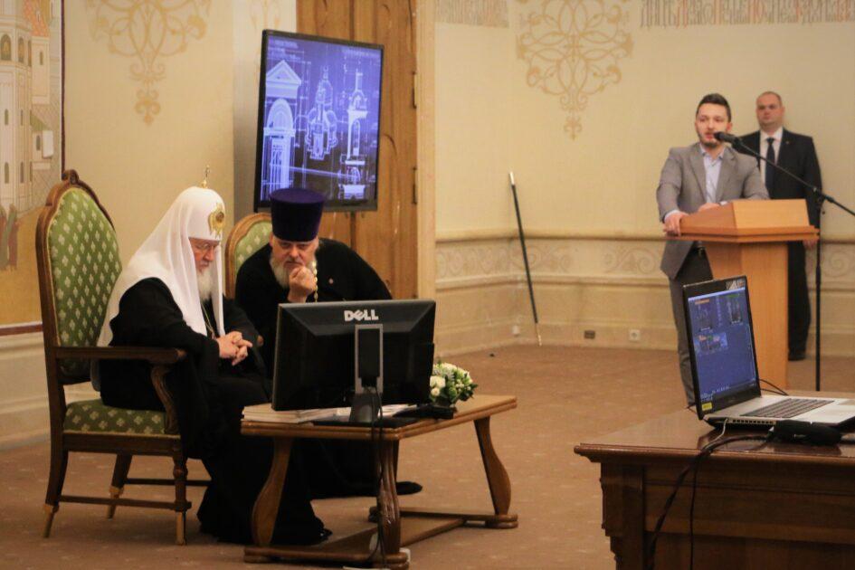 Московский архитектурный институт принял участие во встрече с Его Святейшеством Святейшим Патриархом Кириллом