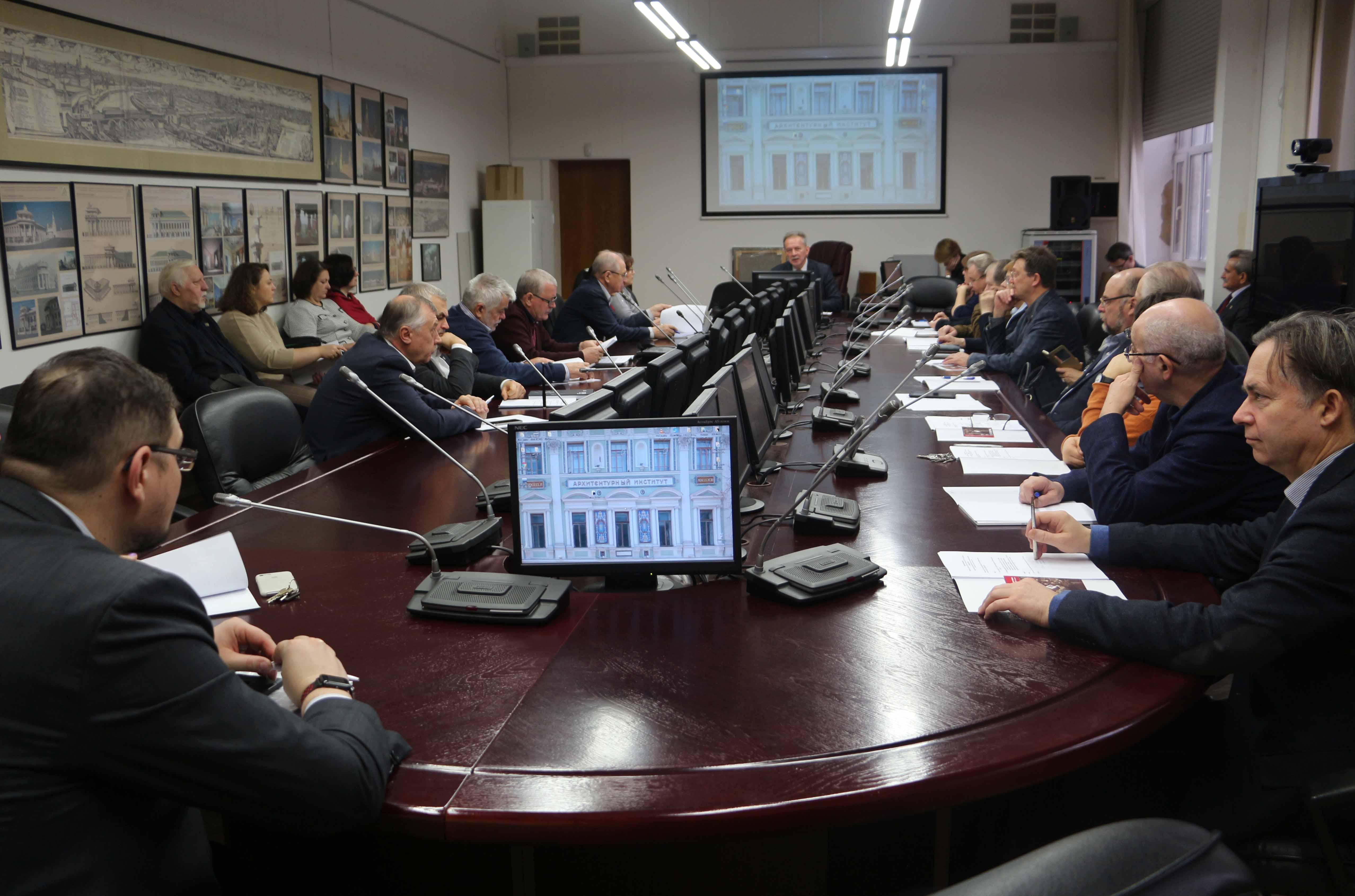 В МАРХИ состоялось отчетное  заседание Федерального УМО «Архитектура»