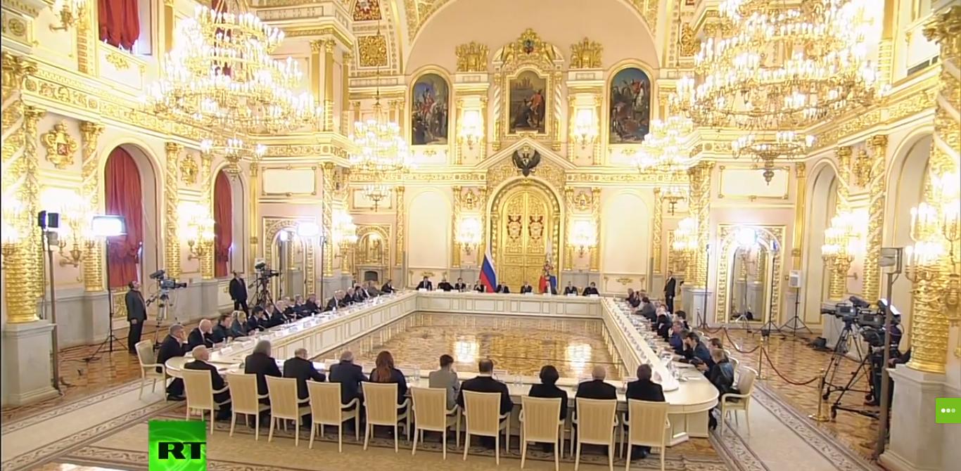 Ректор МАРХИ принял участие в заседании Совета при президенте РФ по культуре и искусству