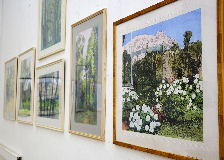 Открытие выставки художественных работ Орлова Г.Ю.